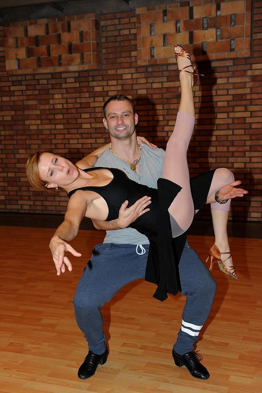 Jitka se do tance pustila s vervou sobě vlastní...