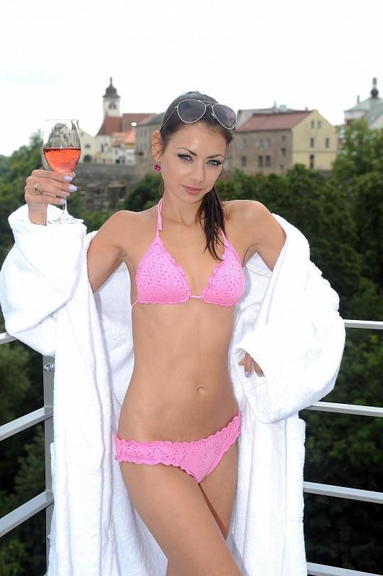 Petra Pudová si užívala relaxační víkend.