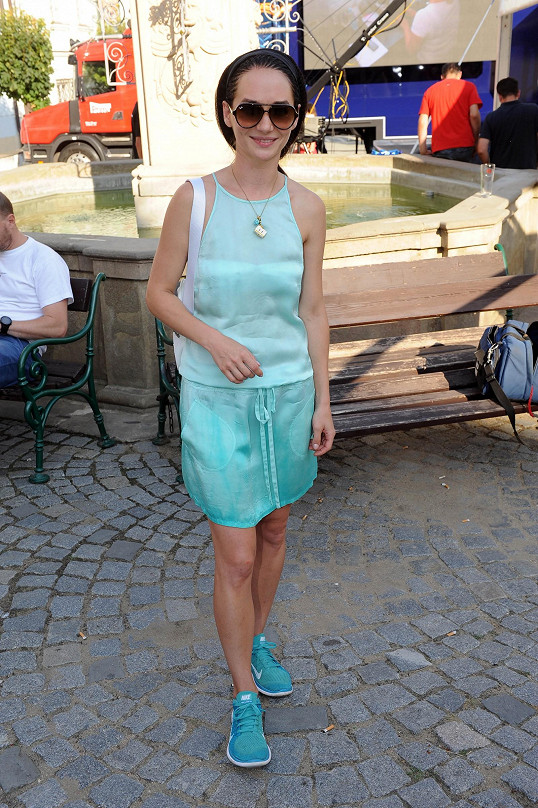 Sandra Nováková momentálně netočí žádný seriál.