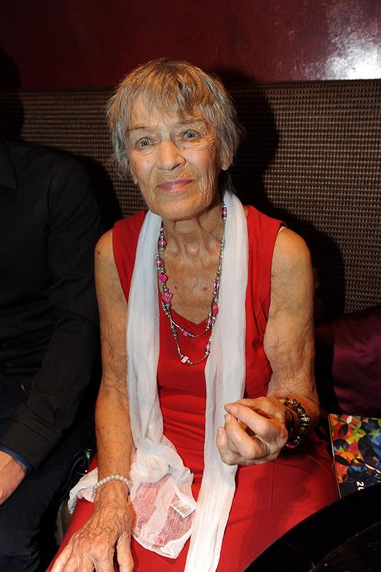 Luba Skořepová zemřela ve věku 93 let.