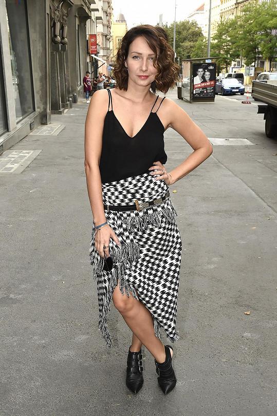 Veronika si zahraje i v druhé sérii První republiky.
