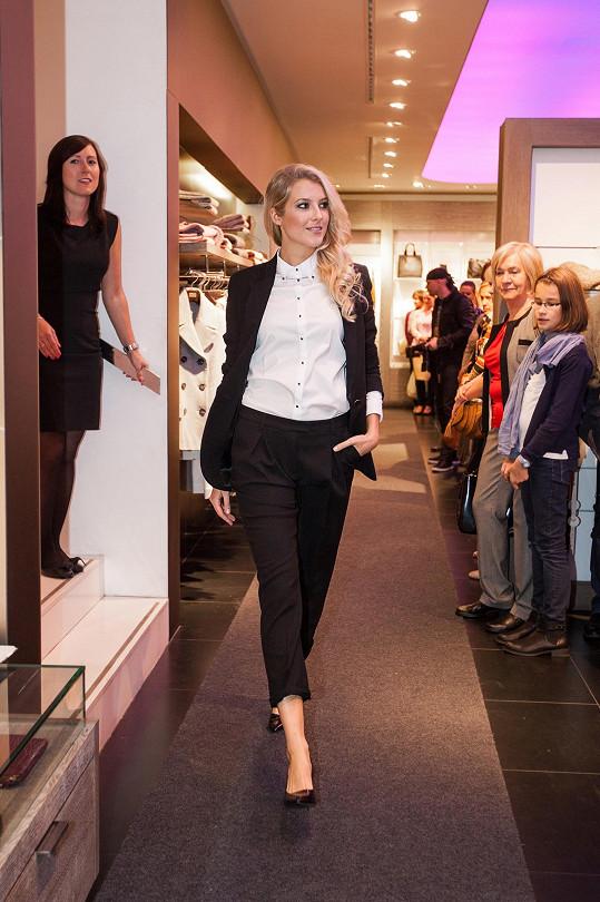 Česká Miss 2011 Nováčková na mole