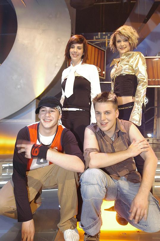 S Anetou, Šárkou Vaňkovou a Tomášem Savkou