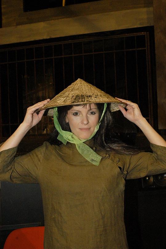 Při muzikálu Miss Saigon
