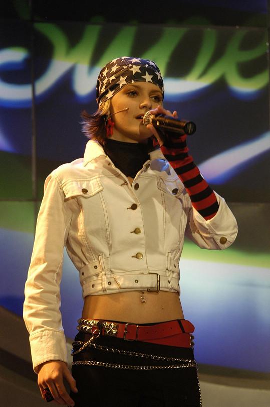 V šestnácti byla nejmladší soutěžící.