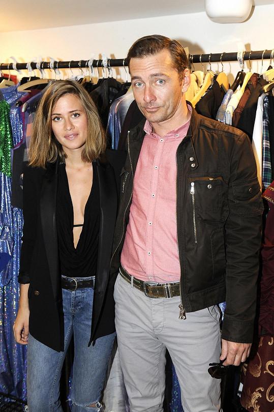 Emma s budoucím Nickem Carterem Petrem Vondráčkem