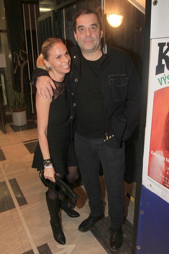 Miroslav Etzler s přítelkyní Helenou. Bude svatba?