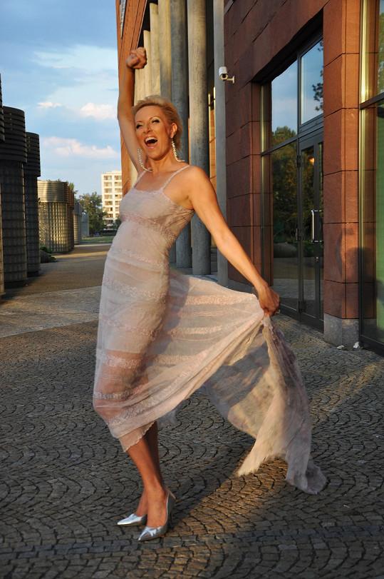 Renata má po úspěšné operaci zase důvod k radosti.