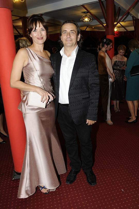 A s manželem Petrem Kracikem