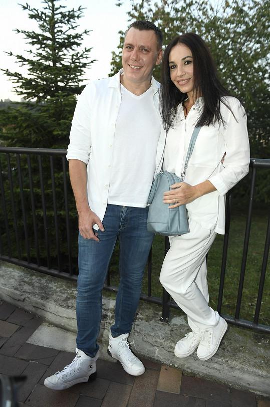 Michaela Kuklová se snoubencem
