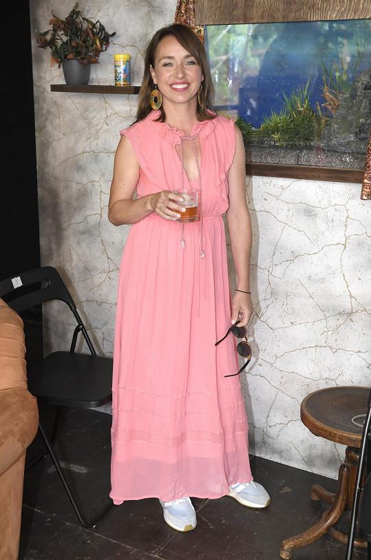 Herečka se těší na úsměvy vysílané z letní scény Ungeltu.