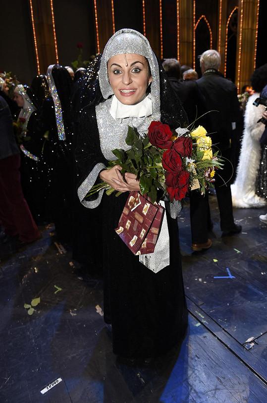 Procházková už opustila své muzikálové role, jednou z nich byla i role v Sestře v akci.