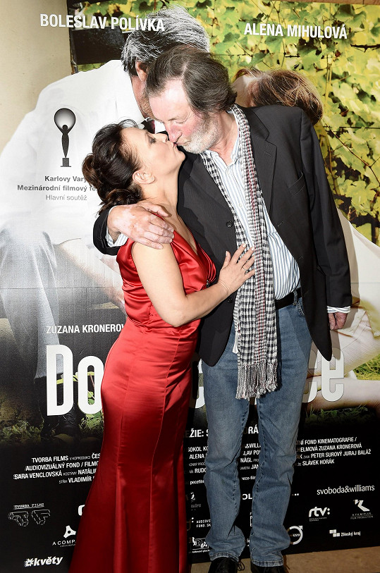 Mihulová a Polívka hráli manžele.
