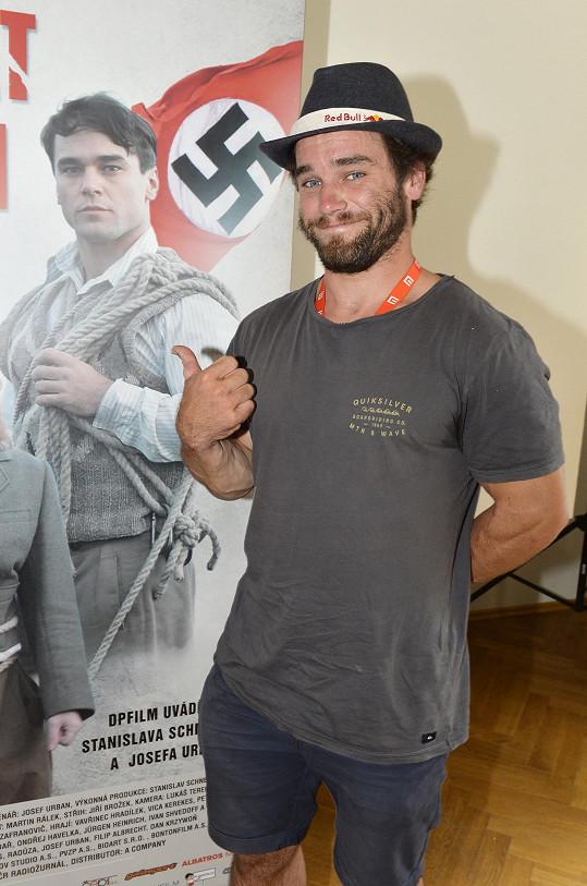 Vavřinec Hradilek si ve filmu Tenkrát v ráji zahrál hlavní roli.
