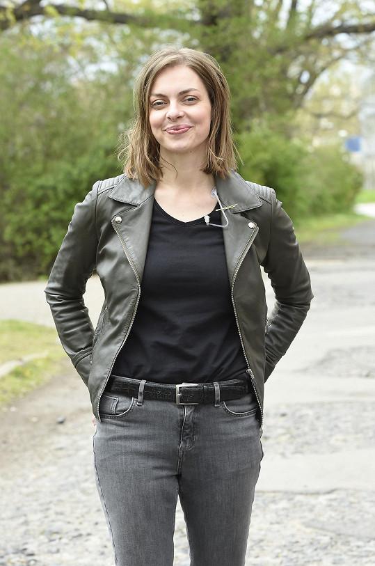 Eva Leimbergerová žije s francouzským partnerem, se kterým má dvě malé děti.