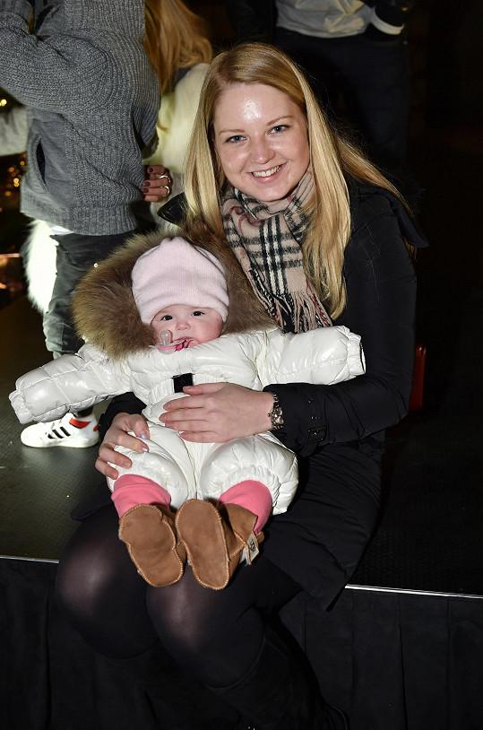 Karolína s dcerou Emou