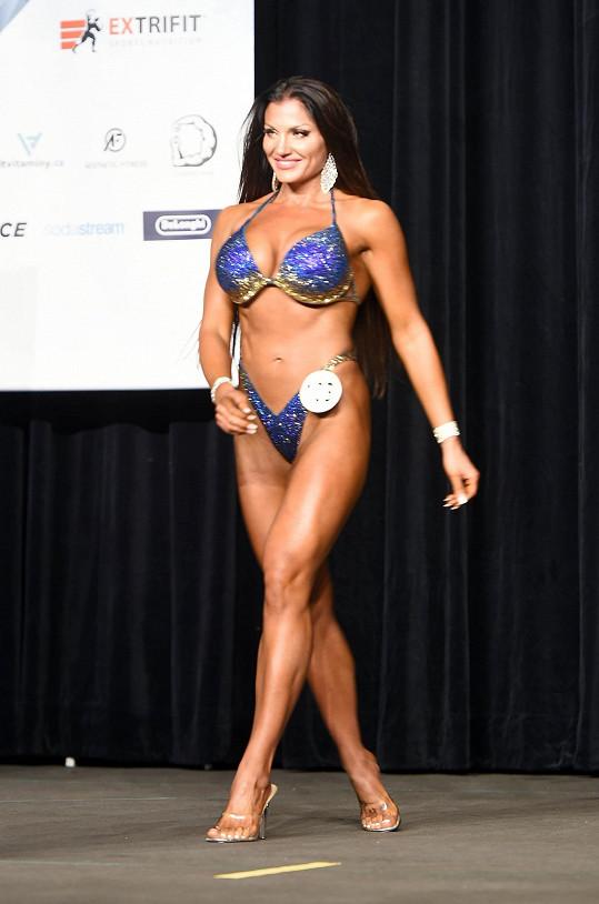 Sabina Kaderková na finále světové soutěže Diamond Cup v hotelu Hilton