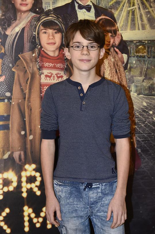 Filip Antonio už hraje puberťáky.