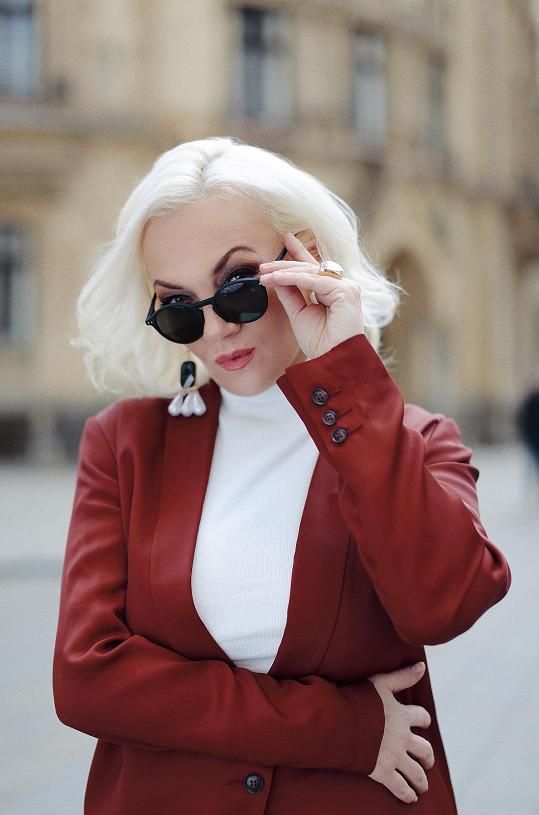 Kateřina Hamrová chce kandidovat na prezidentku.