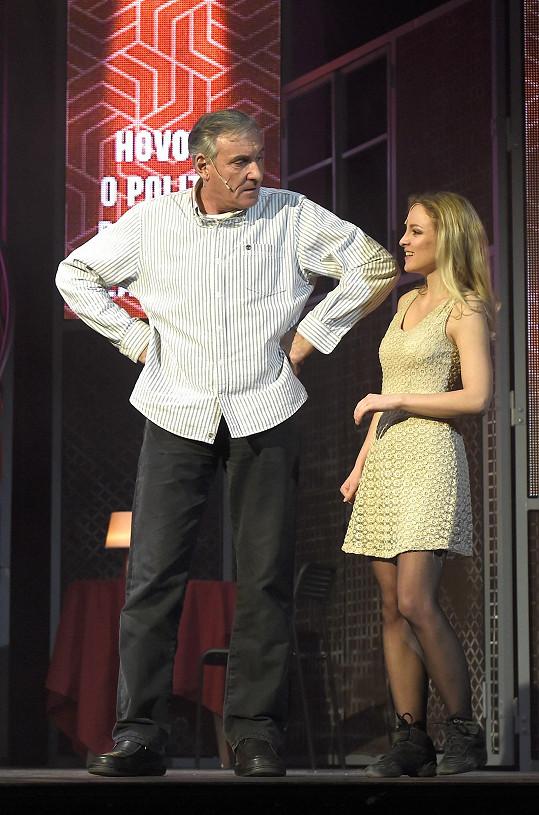 Jan Čenský se nyní vrhnul do zkoušení nového představení.