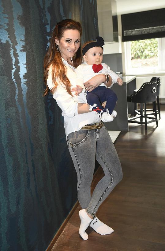 Lenka s dcerou Lilien