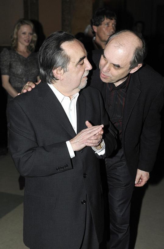 Miroslav s režisérem Dušanem Kleinem