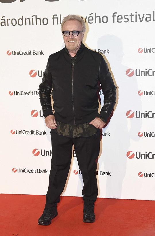 Umberto byl hostem velkolepé párty na Mlýnské kolonádě.
