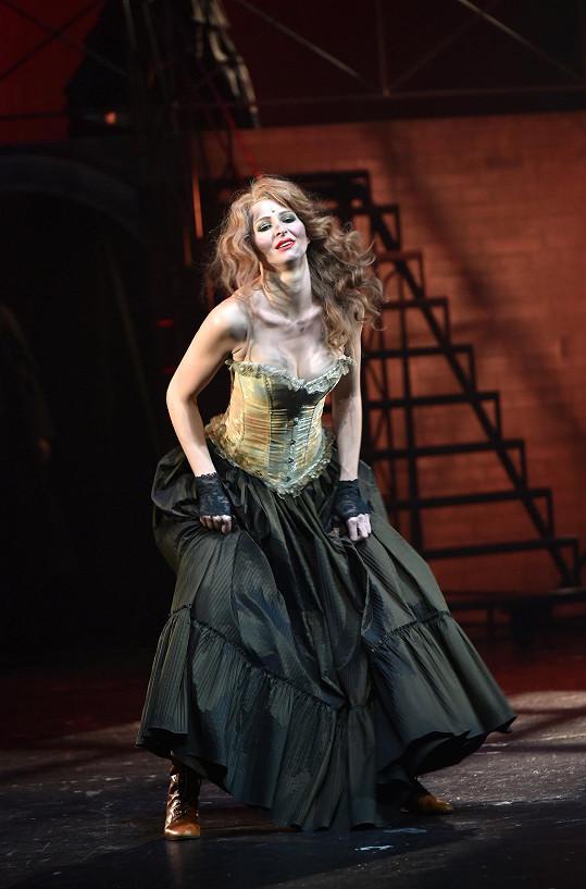 Ivana v muzikálu hrála, zpívala i tančila.