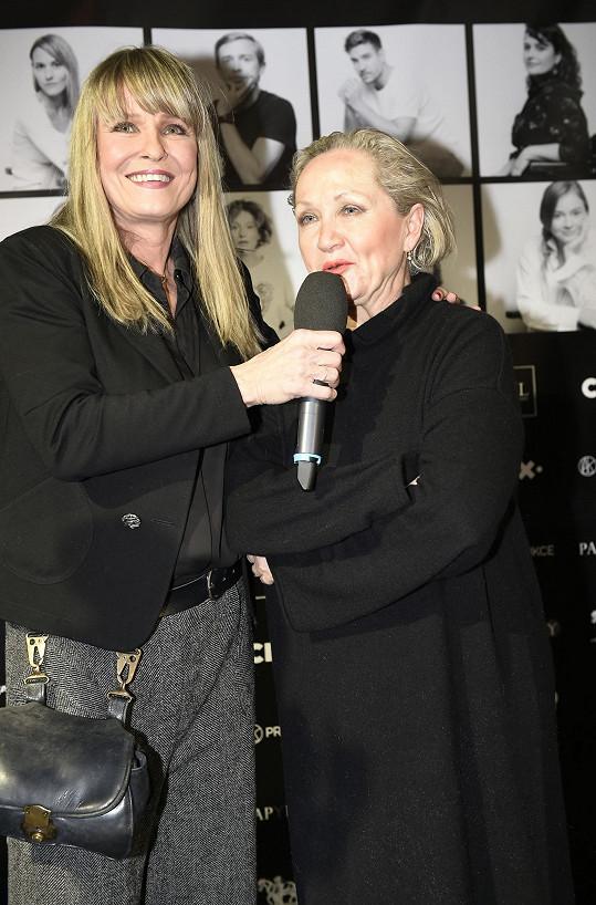 S Bárou Basikovou, která na akci zpívala.