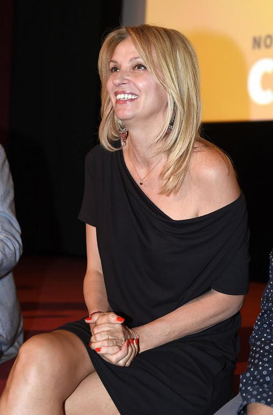 Herečka představila snímek Chata na prodej, kde ztvárnila jednu z hlavních rolí.