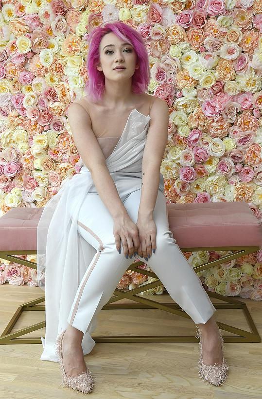 Krásná Tereza si nedávno vyzkoušela i roli modelky.