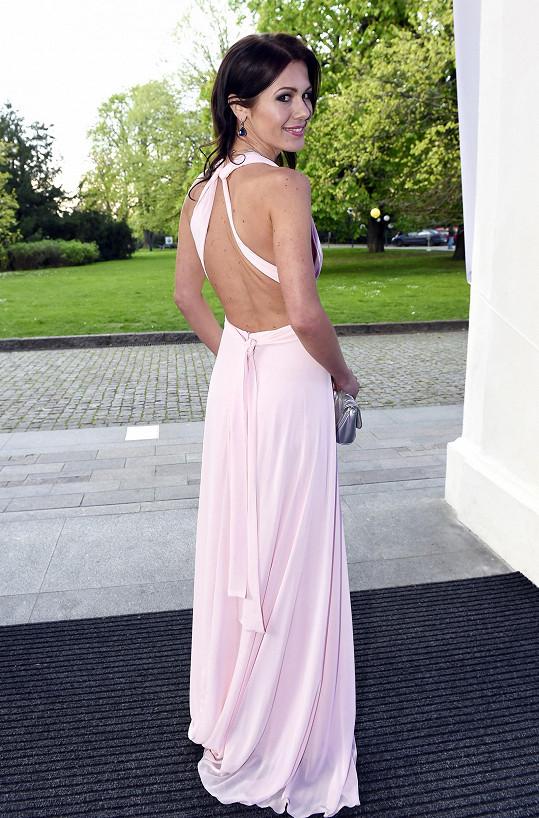 A model od Dominiky Sedláčkové byl docela odvážný.