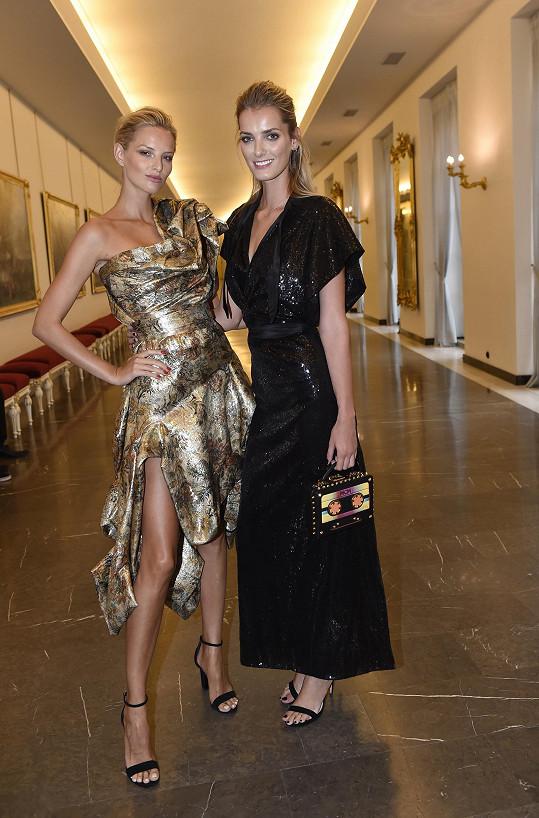 Michaela Kociánová (vlevo) bude opět slovenskou ambasadorkou soutěže. Denisa Dvořáková bude mít pod svými křídly zase české finalisty.