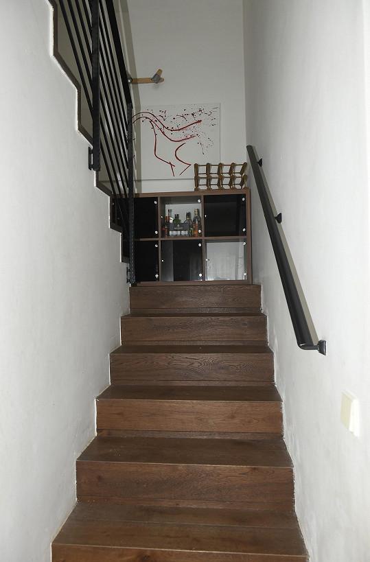 Schodiště do horního patra
