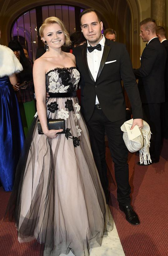 Veronika Stýblová s partnerem