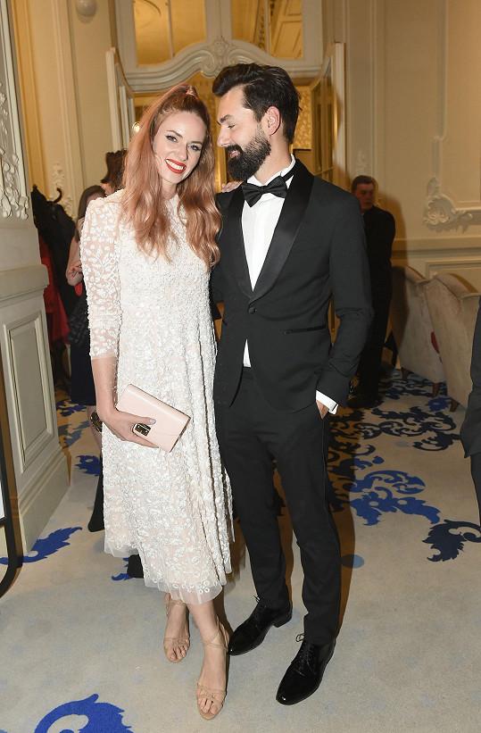 Nikol Moravcová s manželem Karolem
