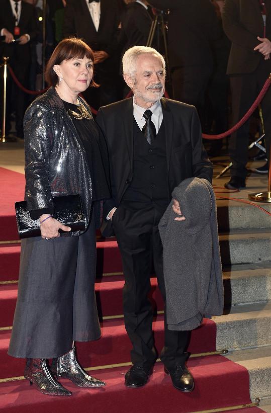 Lenka Termerová s manželem Morisem Issou