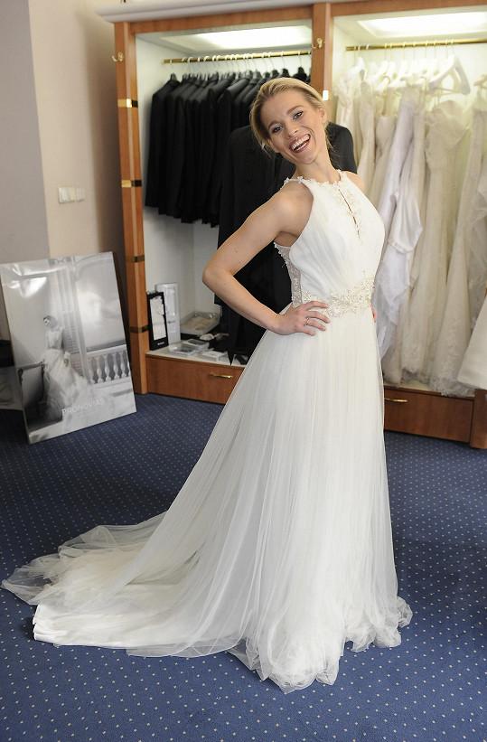 Michaela Gemrotová bude jednou krásná nevěsta.