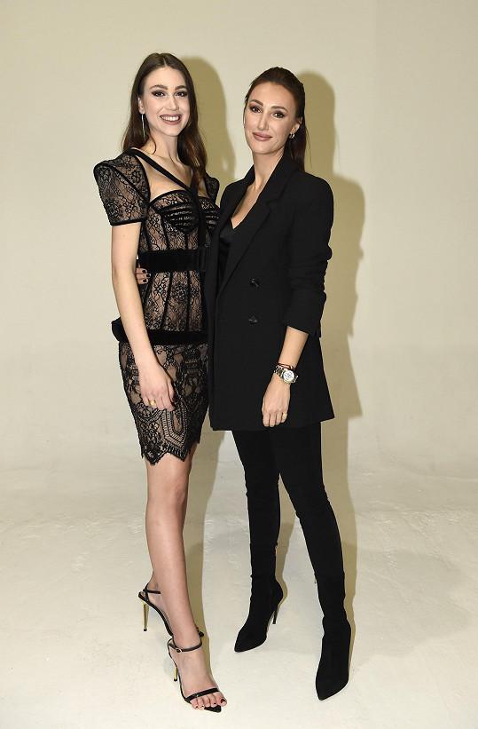 S ředitelkou Miss Czech Republic Taťánou Makarenko
