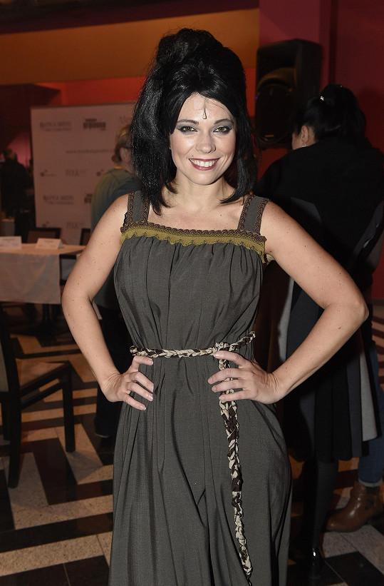 Roli Zemánková alternuje s Míšou Noskovou, která si odskočila ze zkoušky muzikálu Sibyla.