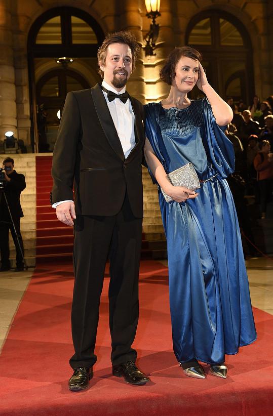 Lenka Vlasáková s partnerem Janem Dolanským