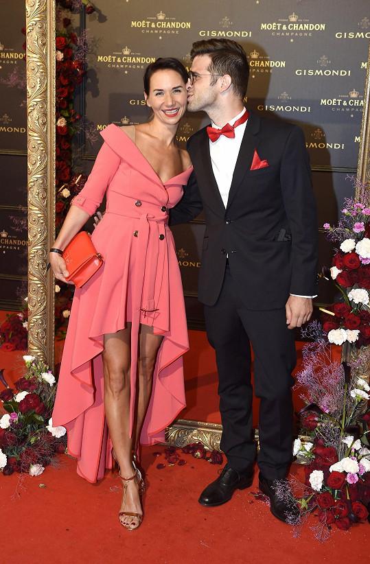 Sandra Nováková s manželem Vojtěchem Moravcem
