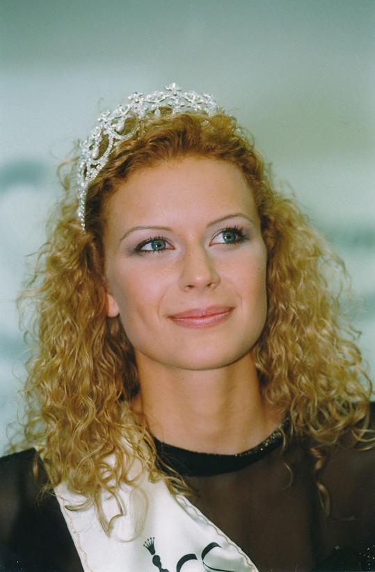 Kateřina Stočesová v roce 1998