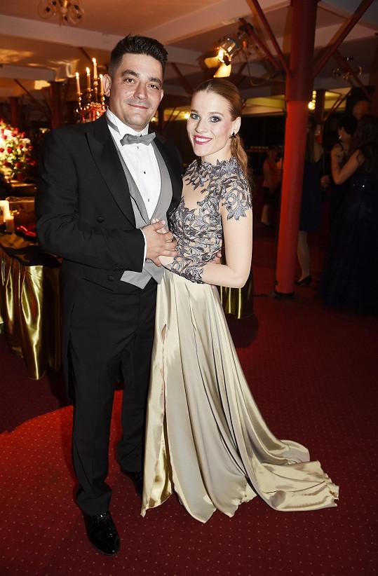 Michaela s přítelem Sašou Kopkou