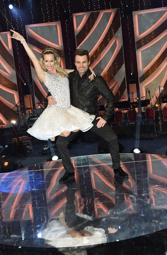 Katarína tančila ve StarDance s Leošem Marešem.