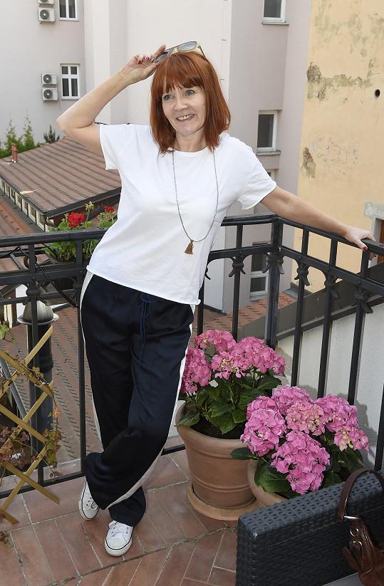 Pavlína Mourková se může chlubit štíhlounkou postavou.