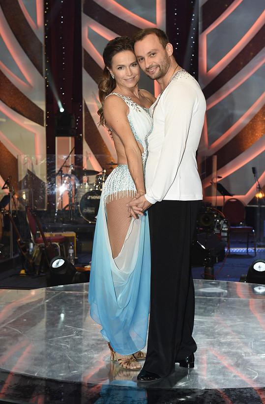 Diváci Danielu přirovnávají k Olze Šípkové, která tančila s Markem Dědíkem.