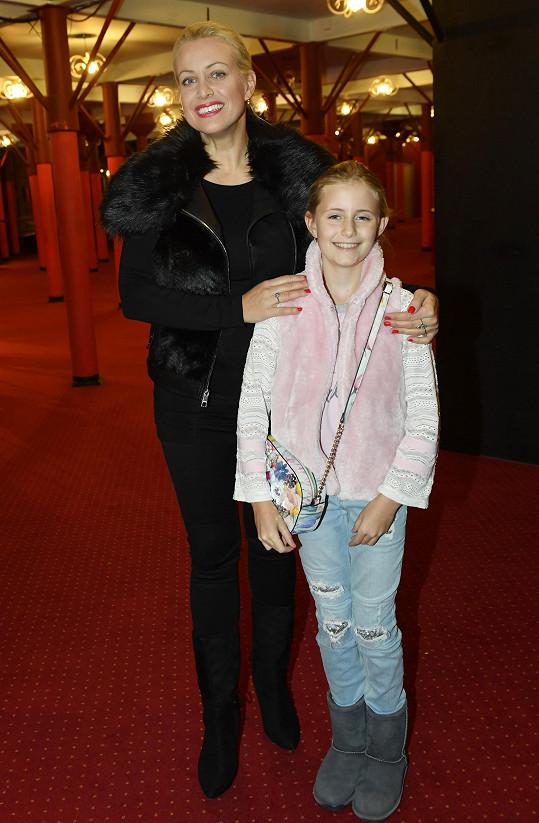 Tereza Mátlová přišla na konkurz s dcerou Emilkou.