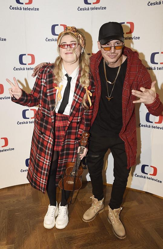 Ke spolupráci přizvala slovenského rappera, který si říká Čis T.