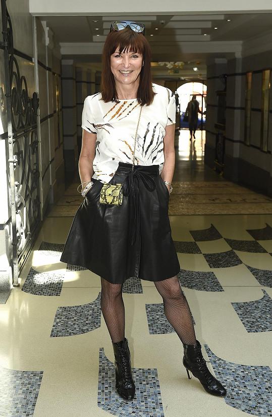 Od dětství paní Olgu obdivuje návrhářka Beata Rajská.